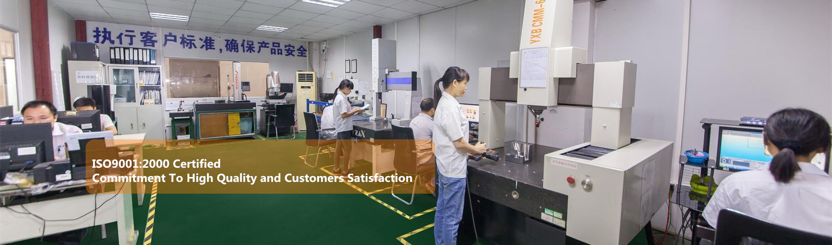 High Quality and Customers Satisfication